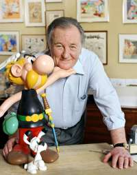 Albert Uderzo, portrait, image, bild, photo, Kai juenemann, asterix, obelix,