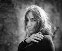 Patti Smith, muscian, artist, portrait, foto, image photo, singer, gesicht, face, reportage, privat