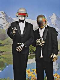 Daft Punk, musicians, frankreich, france, musiker, portrait, photo, foto, kai juenemann,