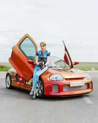 Technikart mademoiselle, car tuning, photo, kai juenemann,mode, fashion, auto tuning,