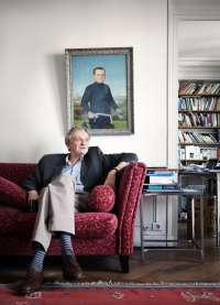 François Lelord, psychiatre, author, autor, paris, french, frankreich, portrait, photo, Bild, image, kai juenemann,