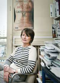 Catherine Millet, art, magazine, portrait, photo, paris, france, schriftstellerin, journalist, kai juenemann