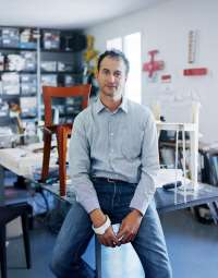 François Azambourg, designer, funiture, design, furniture design, french, paris, france, portrait, photo, image, kai juenemann
