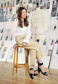 Clare Waight Keller, chloe, designer, fashion, mode, portrait, photo, image, kai juenemann, Paris, france, modedesignerin,