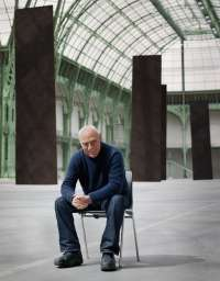 Richard Serra, artist, grand palais, paris, portrait, image, photo, bild, kai juenemann, künstler, kunst, art,